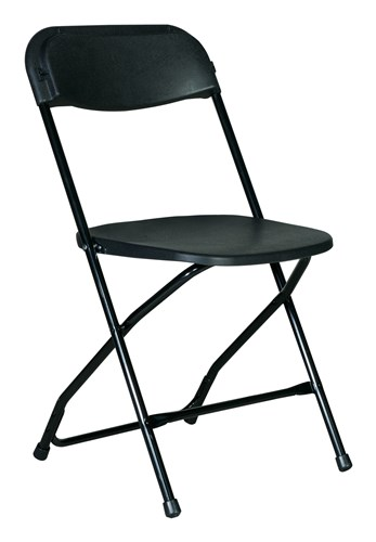 black metal chair for rent